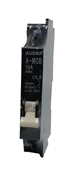 Picture of Aus 1p 10A minirail circuit breaker/1*240