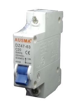 Picture of Aus 1p 20A dinrail circuit breaker/1*240