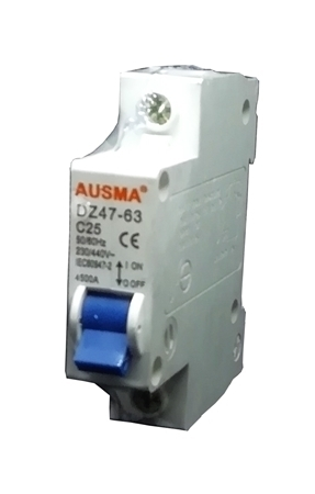 Picture of Aus 1p 25A dinrail circuit breaker/1*240