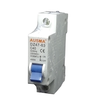 Picture of Aus 1p 40A dinrail circuit breaker/1*240