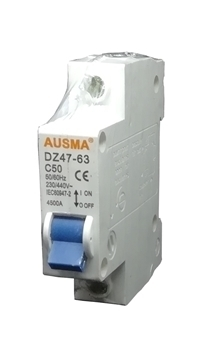 Picture of Aus 1p 50A dinrail circuit breaker/1*240