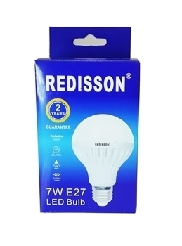 Picture of 7WE27 (RED led bulb)/1*100