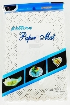 Picture of 17366(6.5''*9'')Paper mat 24p/1*360