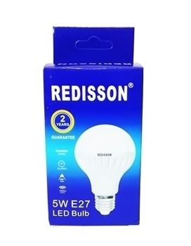 Picture of 5WE27 (RED led bulb)/1*100