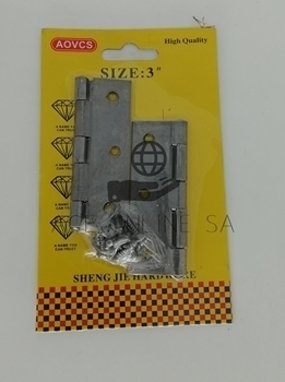 """Picture of BS-1335 3""""*1.4 HINGE/1*180"""