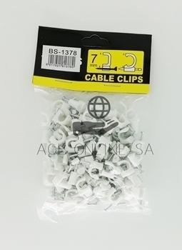 Picture of BS-1378 7MM CABLE CLIP/1*400