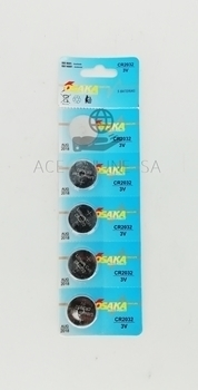 Picture of CR2032(3V OSAKA BATTERY)/1*6*100
