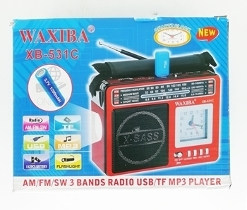Picture of XB-531C WAXIBA RADIO/1*30