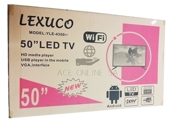 """Picture of YLE-4350 50"""""""" LEXUCO LED TV/1*1"""