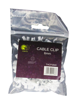 Picture of THCP2600 cable clip 6mm/1*150