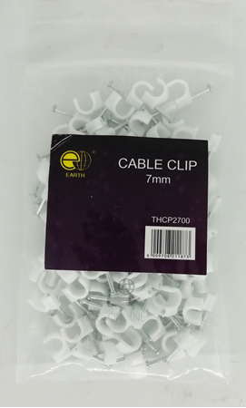 Picture of THCP2700 cable clip 7mm/1*125