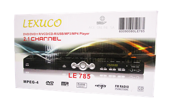 Picture of LE-785(Lexuco dvd player)/1*10