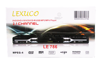 Picture of LE-786(Lexuco dvd player)/1*10