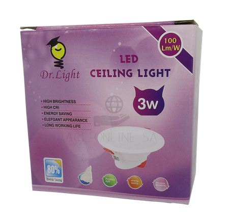 Picture of 3W Down light white/1*100