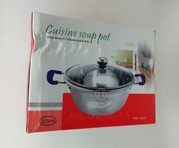 Imagem de KM-C022 cuisine soup pot 22cm/1*24