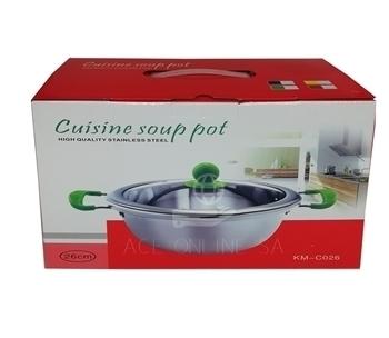 Imagem de KM-C026 cuisine soup pot 26cm/1*24