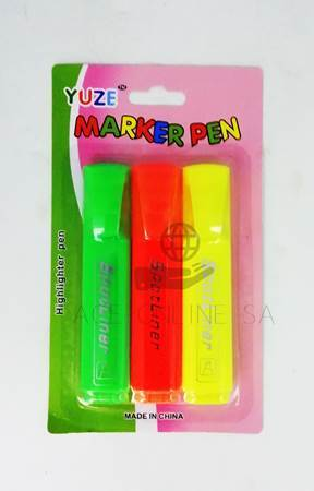 Picture of WB150-3PCS MARKER PEN/1*288