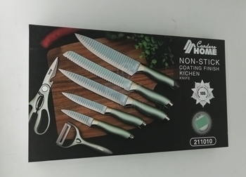 Picture of 211010 6PC KNIFE SET/1*20