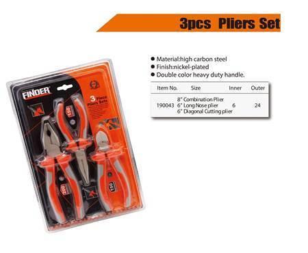 Picture of 190043 Finder 3pcs plier set/1*24