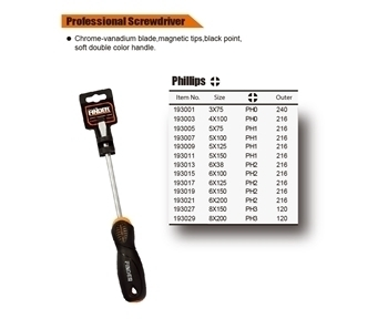 Picture of 193015 cr-v professional screwdriver(6*100+)/1*216