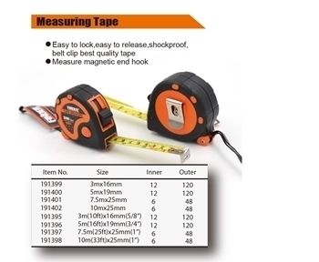Picture of 191395 Tape masuring without magnetic(3M)/1*120