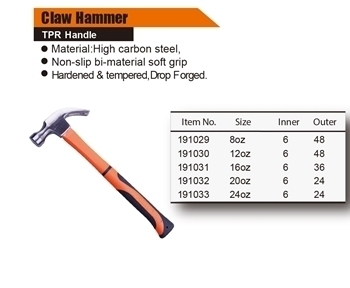 Picture of 191029 Finder Claw hammer(250G)/1*36