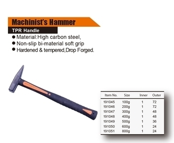 Picture of 191046 Finder machinist's hammer(200G)/1*72