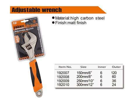 "Picture of 192007 Adjustable wrench(150mm/6"")/1*120"