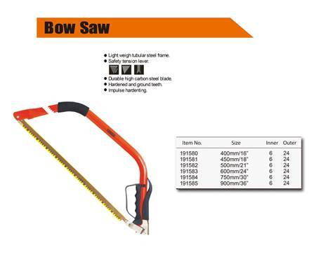 """Picture of 191584 Finder bow saw(750mmmm/30"""")/1*24"""