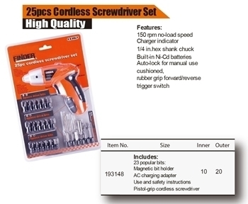 Picture of 193148 electric screw driver/25PC/1*20