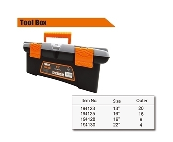 "Picture of 194123 Finder Plastic tools box(13"")/1*20"