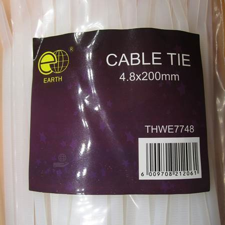 Picture of THWE7748 cable tie 4.8*200mm/1*60