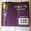 Picture of THWE7730 cable tie 3.0*150mm/1*180