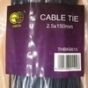 Picture of THBK6615 cable tie 2.5*150mm/1*200