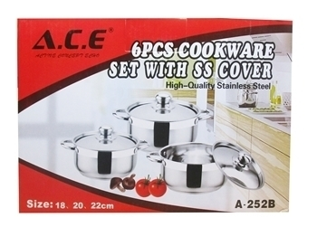 Picture of A-252B(6pc A.C.E POT)/1*6
