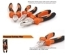"Picture of 190004 Finder Diagonal cutting plier(200mm/8"")/1*7"