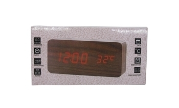 Picture of BS-3566 WOODEN CLOCK/1*60