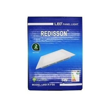 Imagem de R-FS6(6W LED PANEL DOWNLIGHT SQUARE)1*40