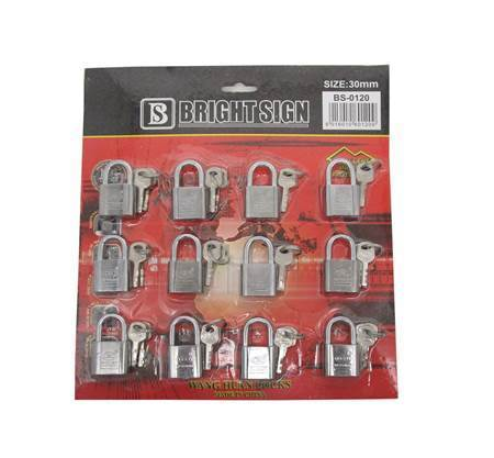 Picture of BS-0120 12PCS 30MM LOCK/1*30