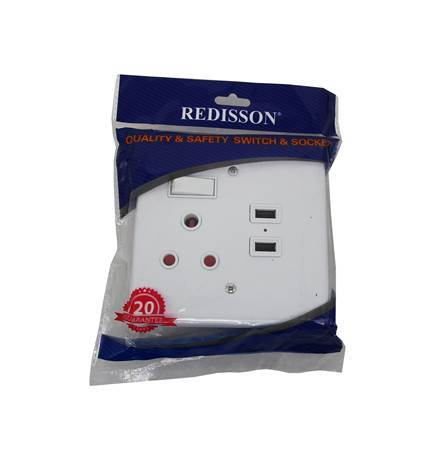 Picture of RED A-MS02(S)USB WALL SWITCH/1*48