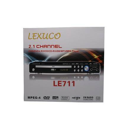 Picture of LE711 LXUCO DVD PLAYER/1*10