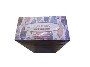 Imagem de Facial tissue pink soft feather 180t*6pks/1*5