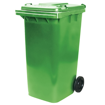 Picture of Wheelie Bin green 240L/1*1