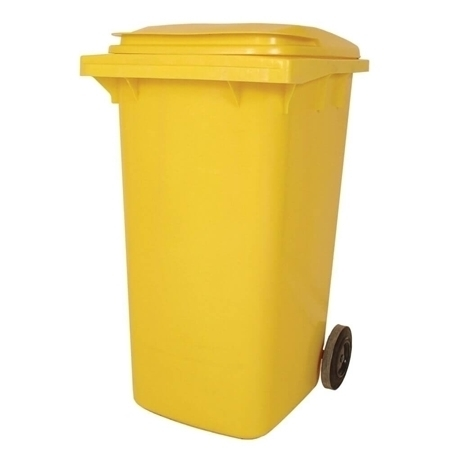 Picture of Wheelie Bin yellow 240L/1*1