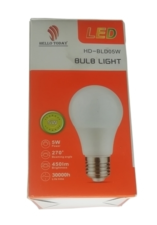 Picture of HD-BLD05W BULB LIGHT B22/1*100