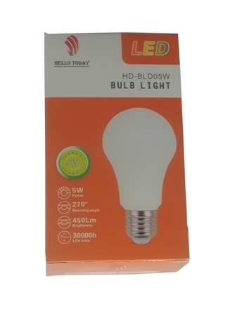 Picture of HD-BLD05W BULB LIGHT E27/1*100