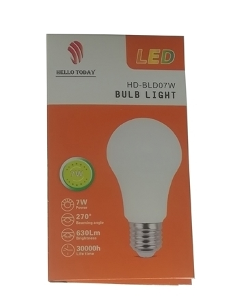 Picture of HD-BLD07W BULB LIGHT E27/1*100
