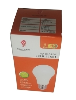 Picture of HD-BLD12W BULB LIGHT B22/1*100