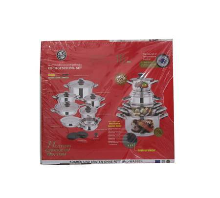 Picture of 16PCS STEEL COOKWARE POT/1*1