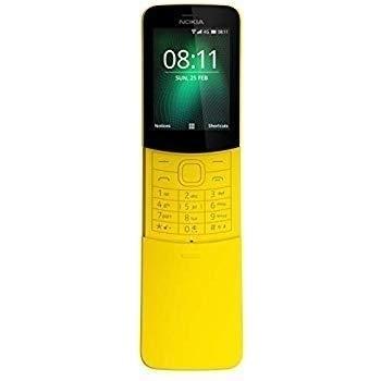 Picture of Nokia 8110 Dual Sim Card Yellow